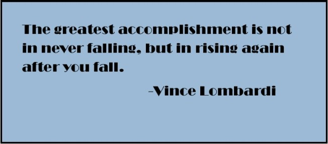 The Greatest Accomplishment...